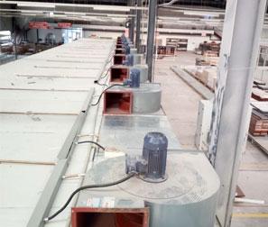 家具厂3KW打磨房风机